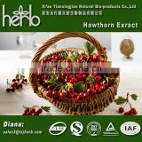 Water-soluble Hawthorne Berry Extract Powder/Flavones/Vitexin/Hawthorn Leaf Powder Extract