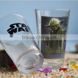 16 ounce colored series of pint glass with customized logo printing