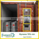 Fawell Synthetic Myrcene 78% 123-35-3