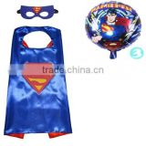 Boys Superhero Dress Up Costumes with Balloon