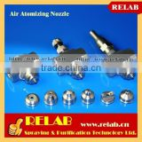 RELAB Humidifying and Cooling Siphon Water and Air Atomizing Nozzle