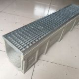 Polymer drain trench/Polymer Concrete Channel with Galvanized or ductile covers