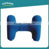 Toprank Comfortable PVC Inflatable Air Pillow Inflatable Back Rest Cushion Lumbar Back Support Air Cushion Pillow