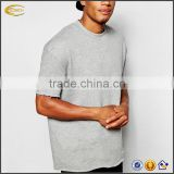 2017 NEW eco-friendly oversized short sleeve crew neck sweat-shirt Guangzhou OEM blank tracksuits for men