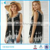 Clothing Manufacturers Bohemian Embroidered Crochet Blouses
