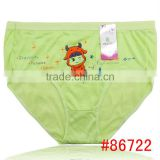 Cute printed high waist women mom underwear fashion wholesale stock mom panties