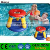 High quality inflatable floating basketball hoop inflatable water basketball target inflatable pool basketball gate