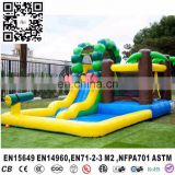 inflatable mini indoor water bouncer park for backyard