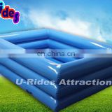 1.5m long inflatable pool for slide and water walking ball