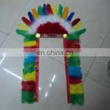 wholesale cheap indian feather headdress FW-0083