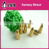 Bullet clinquant beads for garment