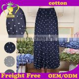 Wholesale Price Excellent Quality Unique Women Dot Maxi Long Skirt