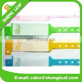 Hospital cheap disposable paper wristbands