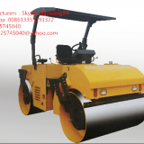 factory Direct sales  6T single drums double drums road roller