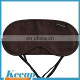 Advertising custom logo novelty 100% cotton eye sleep mask