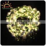 stylish led string lights flower headband made in China