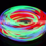 mixed color Glow stick Necklace with foil bag