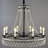 LED crystal Chandelier Pendant Light & iron pendant lamp MB1197