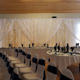 Decoration elegant wedding backdrop for parties for stages