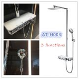 Foshan China supplier NEW 2018 Ating AT-H003 rain shower sets 3functions shower faucets