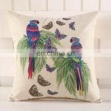 degital print car and wooden sofa seat cushion pillow