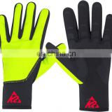 Cycle Gloves yellow & black