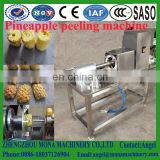 Automatic pineapple peeling machine|pawpaw peeling machine| Honey pomelo peeler|automatic fruit peeling machine with CE
