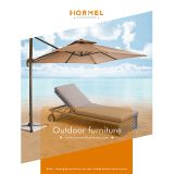 Hormel lazy furniture outdoor pool chaise lounge chair aluminum sun lounger with wheels