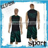 Fashionable sublimation printing basketball jersey pictures design