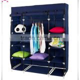 Simple Folding Fabric Wardrobe Designs Portable assemble style fabric wardrobe                                                                         Quality Choice