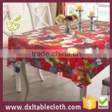 stain dining pvc table cloth