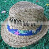 school hollow straw hat for men