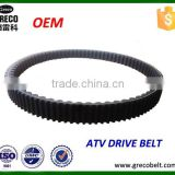 High quality ATV drive belt transmission belt for go kart atv engine parts