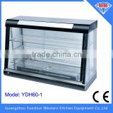 Electric Food Warmer Display Showcase with Light Box