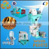 China reliable constructor complete process systems for industrial biomass pelletizing---Wood pellet line ce set
