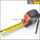 7.5m/25ft rubber cover case Mn steel measuring tape                                                                         Quality Choice