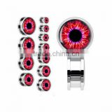 Fashion red flesh ear tunnel,ear piercing