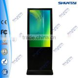 42 inch lcd stand display,totem lcd signage,lcd totems signs for exhibition,expo,mall,hotels