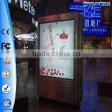 China Rectangle Shape and Aluminium alloy Material scrolling advertising light box