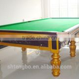 American style Antique Solid wood good price best folding pool table 7ft