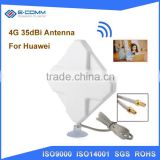 China manufacturer product 35dbi 4g modem external lte antenna for huawei e51724g 4g antenna with TS9 SMA connector