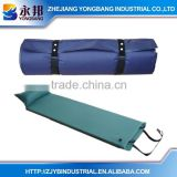 Factory PRICE YONGBANG Mattresses YB-SR521-1 Polyester PVC Sponge Self-inflating Cushion Bed Plastic Air Bed With Pillow