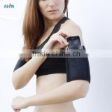 Neoprene Upper Arm Exercise and Cellulite Reduction Band with Cell Phone Pocket
