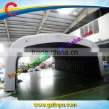 Portable inflatable car garage tent for car show