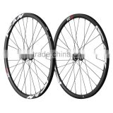 2016 light weight and strong thru axle 29er-25c clincher carbon mountain bike wheels 29er