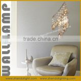 indoor wall lighting&Wholesale modern crystal wall mounted chandelier