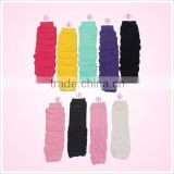 Baby boot socks in stock wholesale knitted solid color baby leg warmers                                                                                                         Supplier's Choice