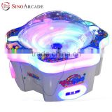 Sinoarcade Modern Magic Ball Pinball Machine 4 Players Coin-op Indoor Simulator Booth Game for Children