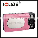 2015 New cute cheap digital video with camera camcorder with 2 inch TFT LCD,2 LED light,Lithium battery power for kid(DV-7200A)