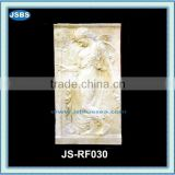 cheap stone carved relief wall ornament